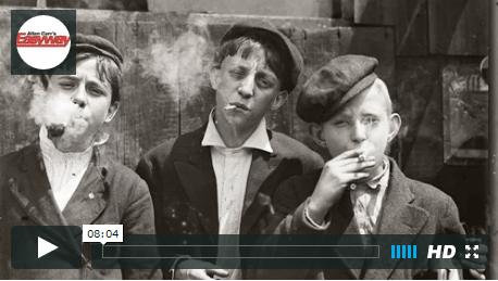 boys smoking 1920