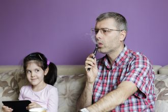Vaping Around Kids - Is it safe or can it affect your children?